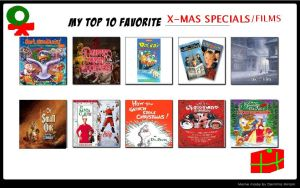 My 10 Favorite Christmas Specials by KessieLou