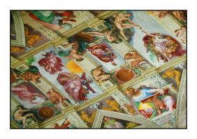 Sistine Chapel - Last Judgement by murraywilson