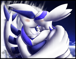 Lugia x Latios Anthros by Latiar027