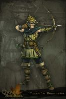 [Graal Seeker] Briton Archer by LauraBevon