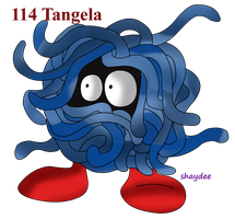 Tangela by The-Real-Shaydee
