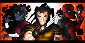 X-Men Axis Trio by Harseik