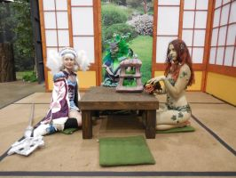 Anime Expo Day 3-  Tea Party by MidnightLiger0