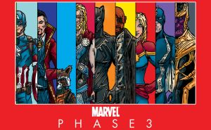 Marvel Phase 3 by johnnytequila