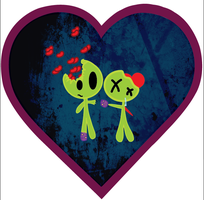 zombie love by ache-china
