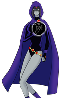 Raven by Capricious-Spider