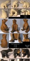 Gourd Bears commission by ART-fromthe-HEART