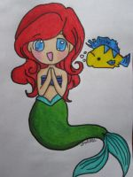 Ariel Chibi by Firespirit7
