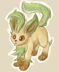 Leafeon by Eltharion