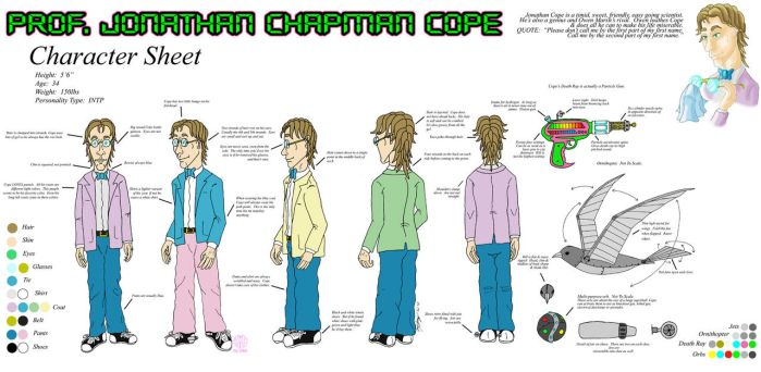 Jonathan Cope Character Sheet by DestroyahDes