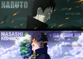 Naruto 604 - Two opposing sides by CoconutGallery