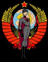 Soviet-Superwoman DCU animated by Soviet-Superwoman