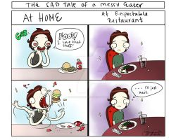 As a Messy Eater by Shadowtangent
