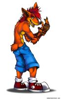 Crash Bandicoot by Mutant-Serpentina