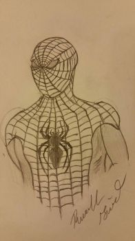 Spiderman by RussellGiven90