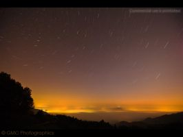 Star Trails over Slovenia by GMCPhotographics