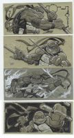 tmnt con sketches by MichaelDooney