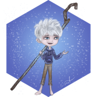 Chibi Jack Frost by sisaat