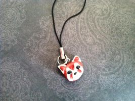 Pabu-cell phone charm by happyr0bot