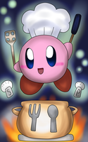 .:Final Smash:. Cook Kirby by SkyWarriorKirby