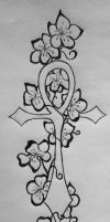 Ankh Cherry tattoo Two by Shinobi-For-Life