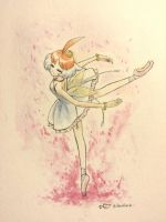 Princess Tutu - watercolor by Faiya-chan