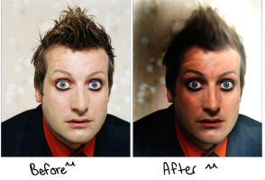 Tre Cool Photo re-touching by scr3aam3r