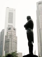 Raffles face Modernism by kharismana