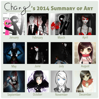 2014 Summary of Art by chang05hana