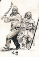 Dacian tribesmen by residentsmooth