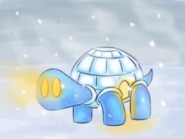 Igloo Tortoise by kudan