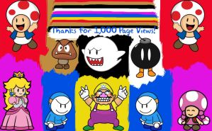 Thanks for 1,000 PV by Ashen7