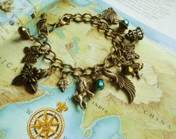 The Untamed_Charm Bracelet by GingerKellyStudio