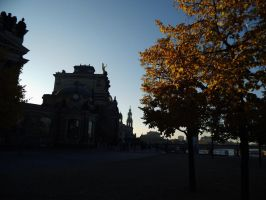 Autumn in Dresden by EricaOscura