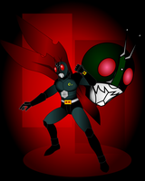 Kamen Rider by CrimsonFace
