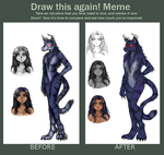 Draw This Again: Charon Mutt by Nuciferyne