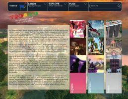 Tropico Tourism Website II by CyberEagleWarrior