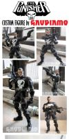 Punisher custom figure ver 2.0 by gaudiamo