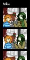 KP: Mistletoe Take 1 by Kaytropolist