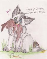 happy easter by Drunk-Titan
