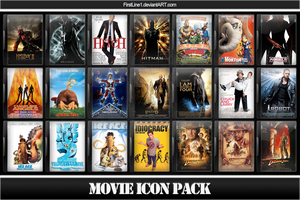 Movie Icon Pack 6 by FirstLine1