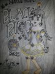 Angry Girls/Angry Birds: Black Bird Girl by MeganLovesAngryBirds
