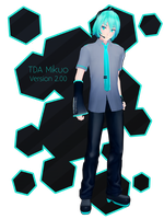 TDA Mikuo Ver 2.00 DL by Xoriu