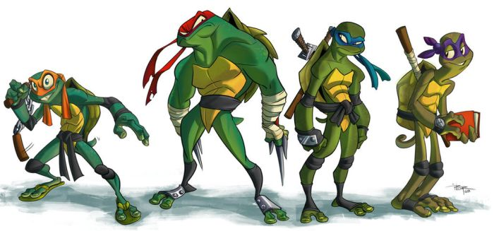 Teenage Mutant Ninja Turtles by 3nrique