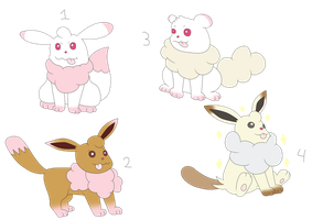 Pokefusion Adopts: Swirlvees [All Held] by sam-speed