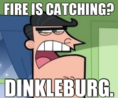 DINKLEBURG. by ThatWeirdGirlThere
