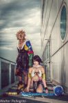 Tidus - Yuna Cosplay - Final Fantasy X Romics 2012 by LeonChiroCosplayArt