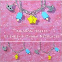 Kingdom Hearts Friend Jewelry by YellerCrakka