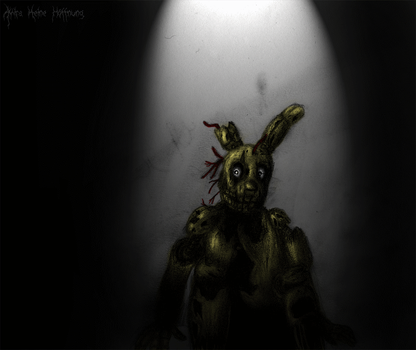We have a place for Him. (Spring-trap FNAF3) by Akira-keineHoffnung