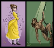 Me Tarzan, You Jane by kuabci